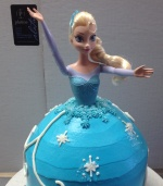 frozen cake small